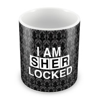 "Кружка ""I am SHERlocked"""