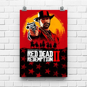 Постер Red Dead Redemption II